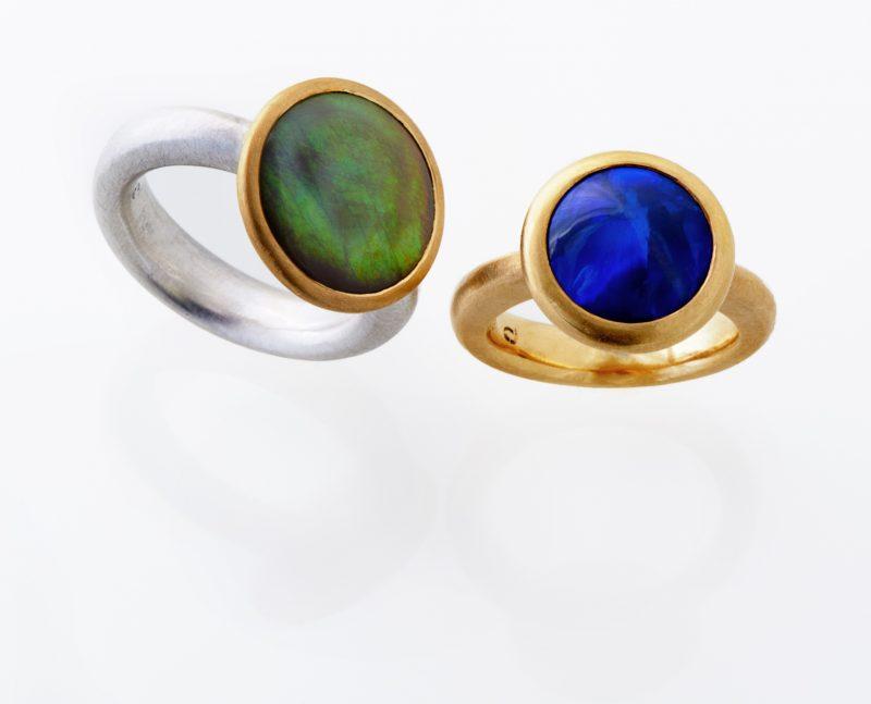Güner und Blauer Opal